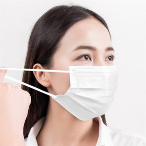 3 ply Face Mask White-1