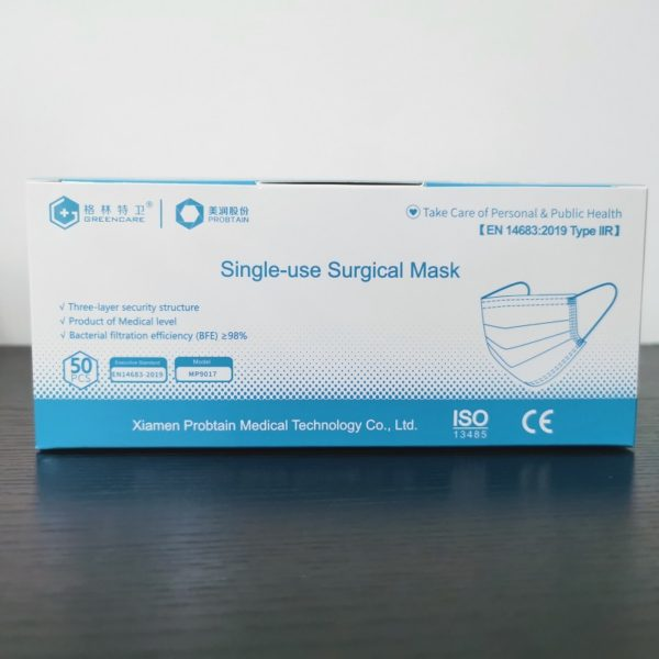 3 ply disposable masks CE-2