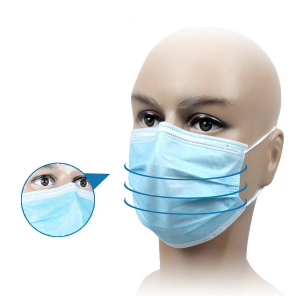 3 ply disposable surgical mask-1